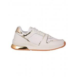 SEVEN Γυναικεία Sneakers 190297-A WHITE/GOLD/MIRROR