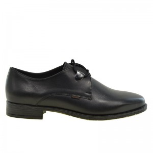 ΓΥΝΑΙΚΕΙΟ ΔΕΤΟ OXFORD RAGAZZA 0154 LEATHER BLACK